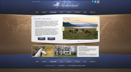 Swallowland's new site design