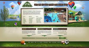 Shelby Co Parks website design