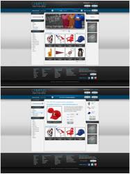 Campus Merchandise E-Comm site by Stephen-Coelho