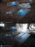 Coxx Events business cards by Stephen-Coelho