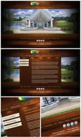 Woodhaven interactive flash website (Live)