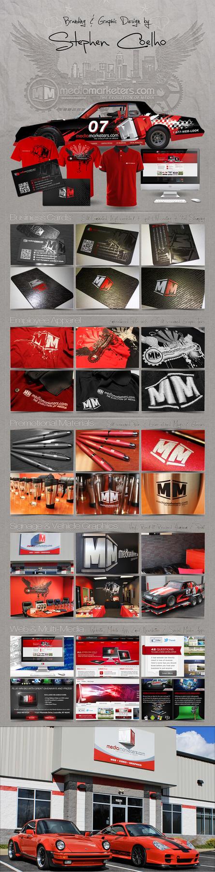 Brand Campaign for Marketing Agency by Stephen-Coelho