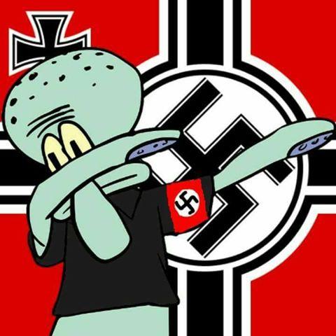 Nazi Squidward Dab By Grandmasterswaglord On Deviantart