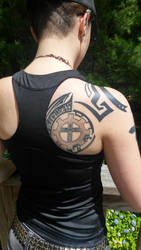 Gear/ Tribal Tattoo by Smooth-Criminal-13