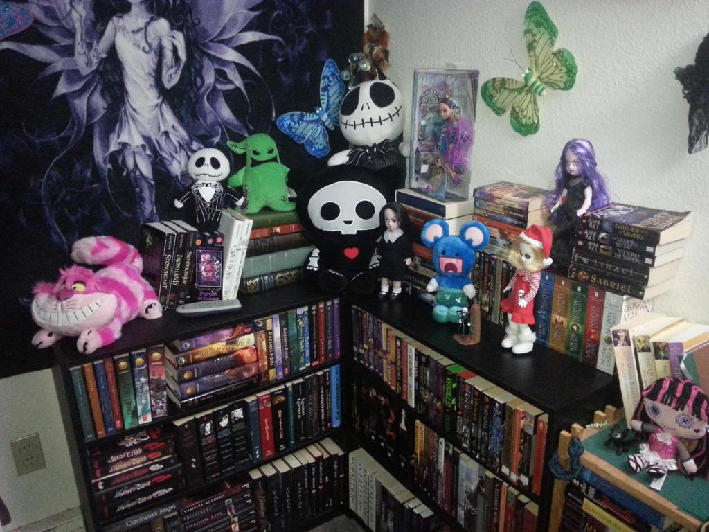 Book shelf by KiraBlackwell