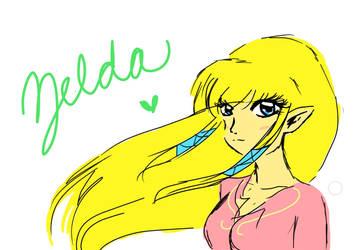 zelda by Pixel-chick