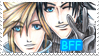 FF7: zack and cloud stamp by DarkLitria