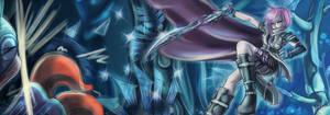 FFXIII: Lightning VS Monster