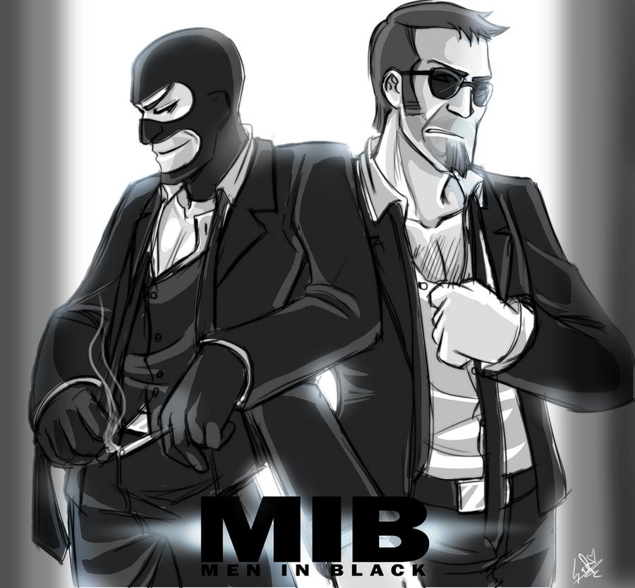 TF2:MIB: who is Better? by DarkLitria on DeviantArt