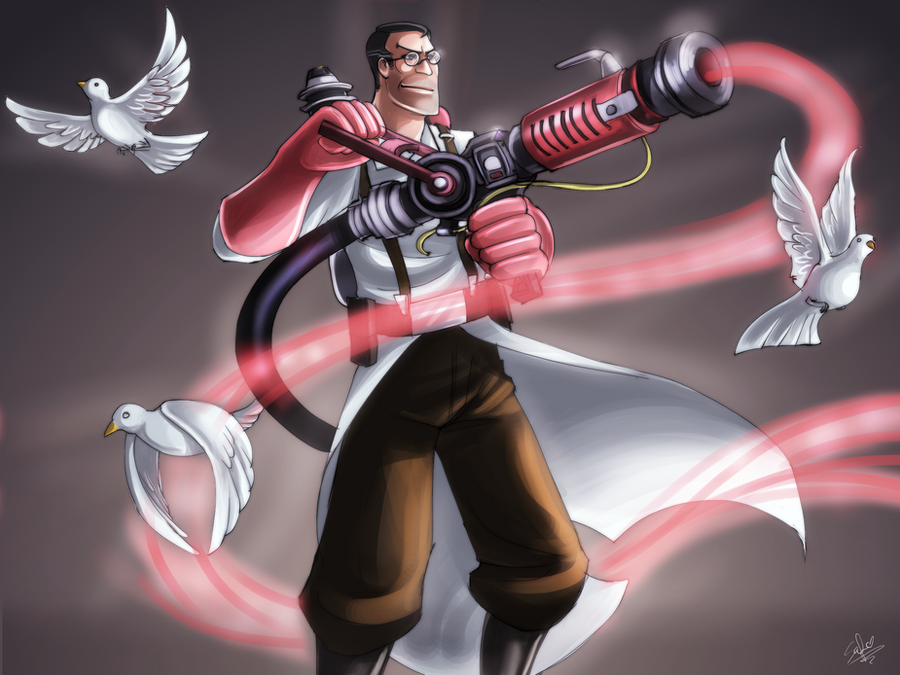 +TF2:Medic+ by DarkLitria