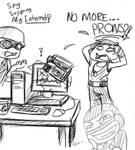 TF2: Spy sapping my Internet!