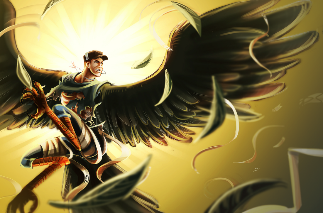 TF2: Harpy Scout by DarkLitria