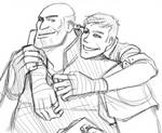 TF2: Heavy and scout