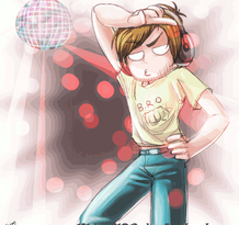 Dance pewdie dance by DarkLitria