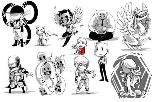 OFF: Tiny characters