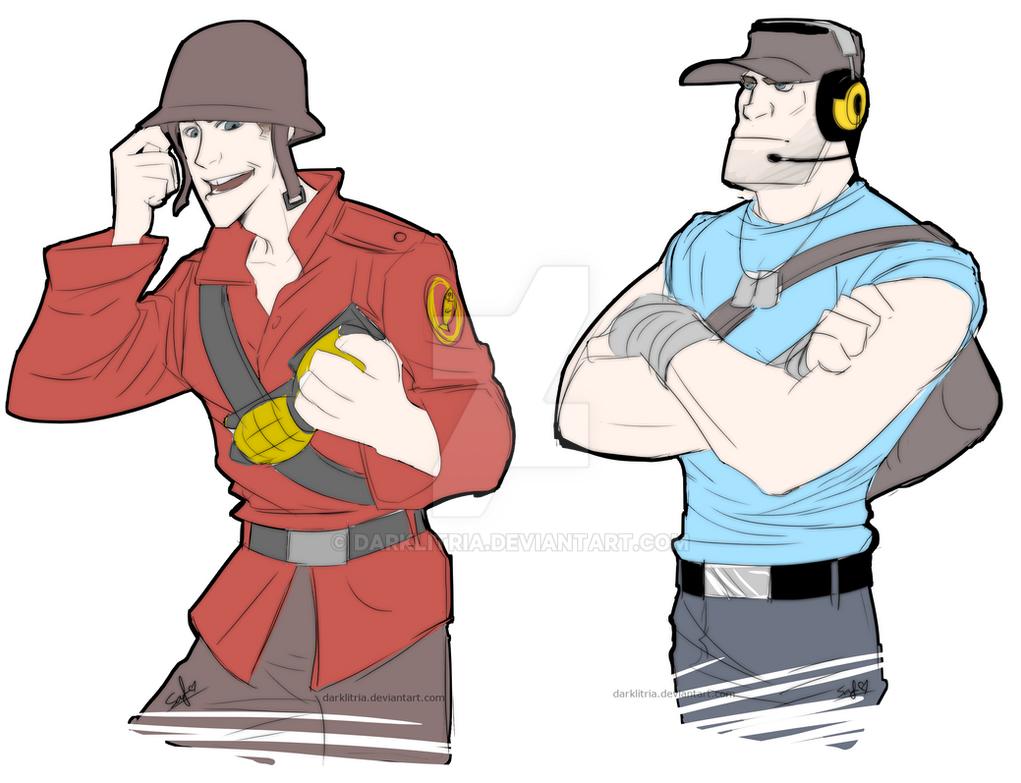 how to draw spy tf2