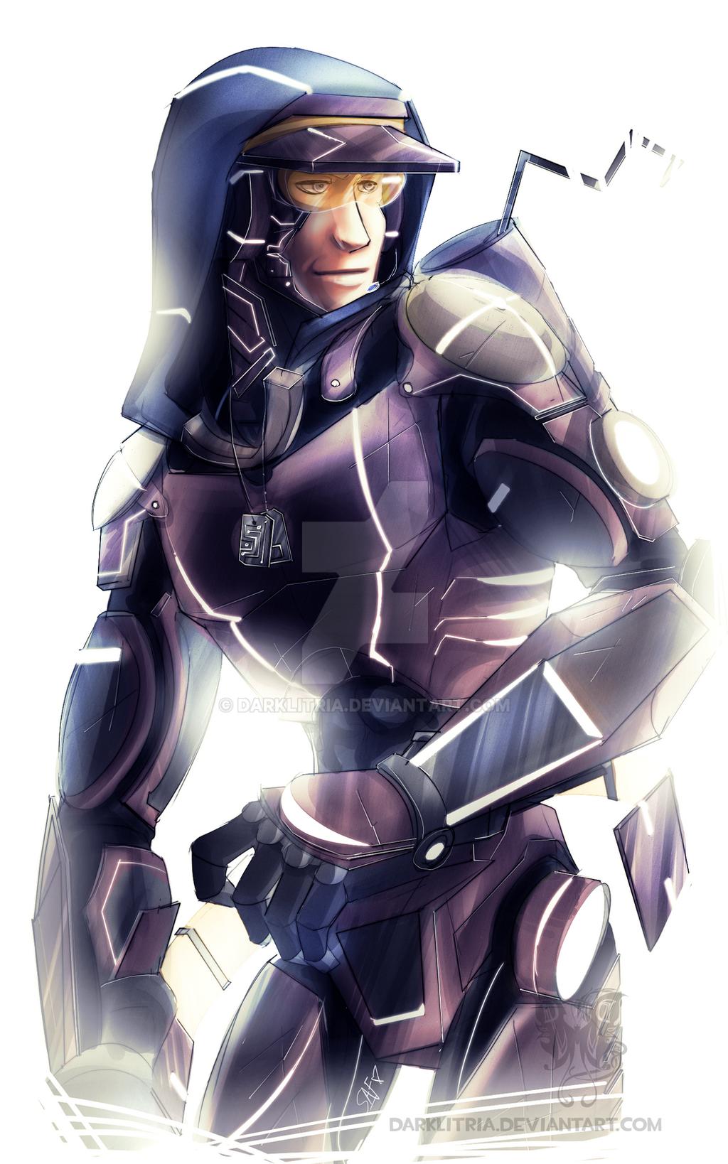 how to draw cyborgs head