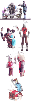 TF2: More Robots dumps and Fake scoutbot