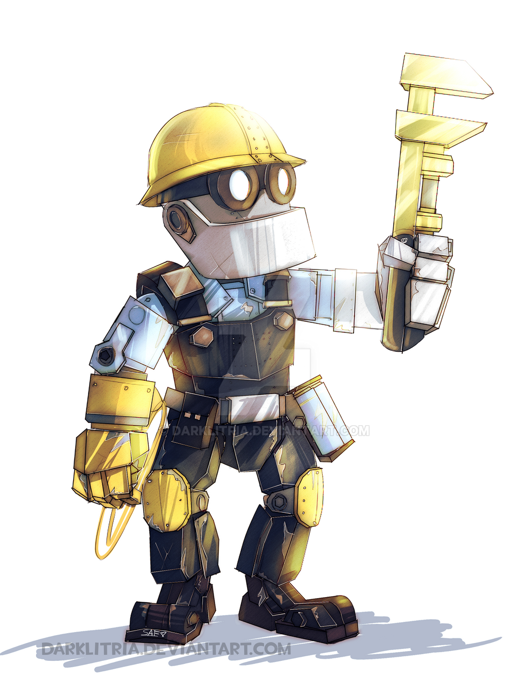 Little robot Engi
