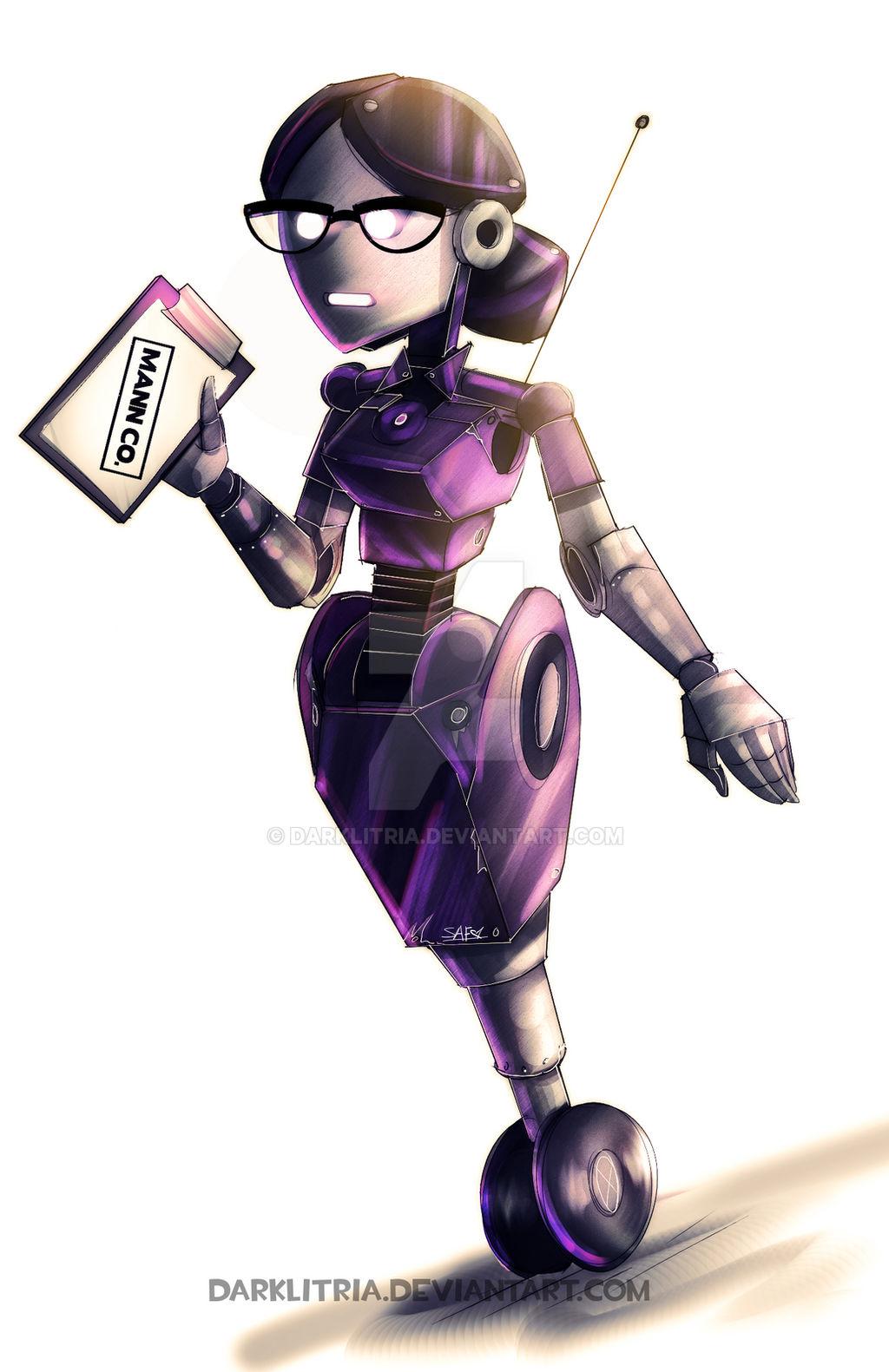 TF2: Robots has Feelings by DarkLitria on DeviantArt in