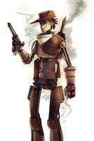 TF2: 1800s Steampunk bot scout