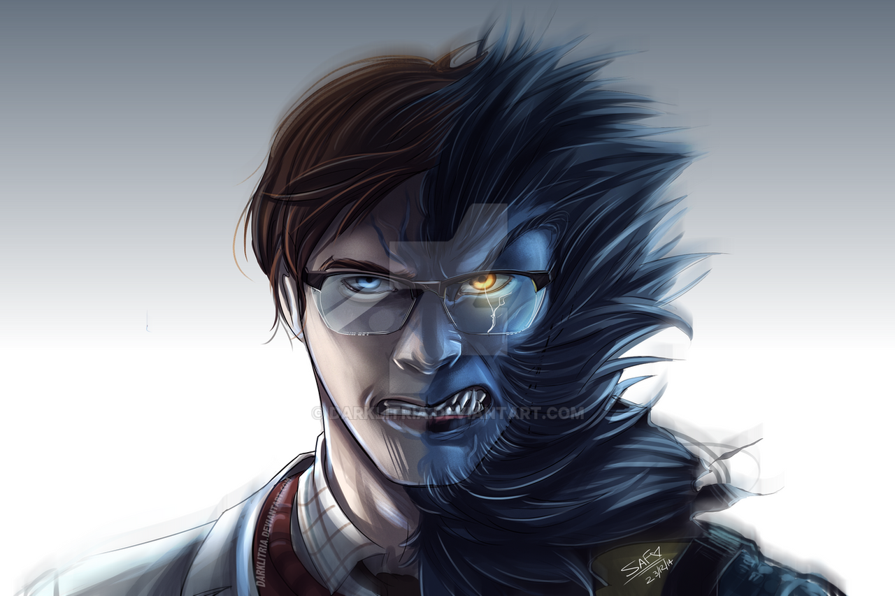 xmen first class beast by darklitria on deviantart