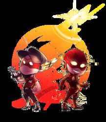 TF2:TF: Scout+Barry polished by DarkLitria