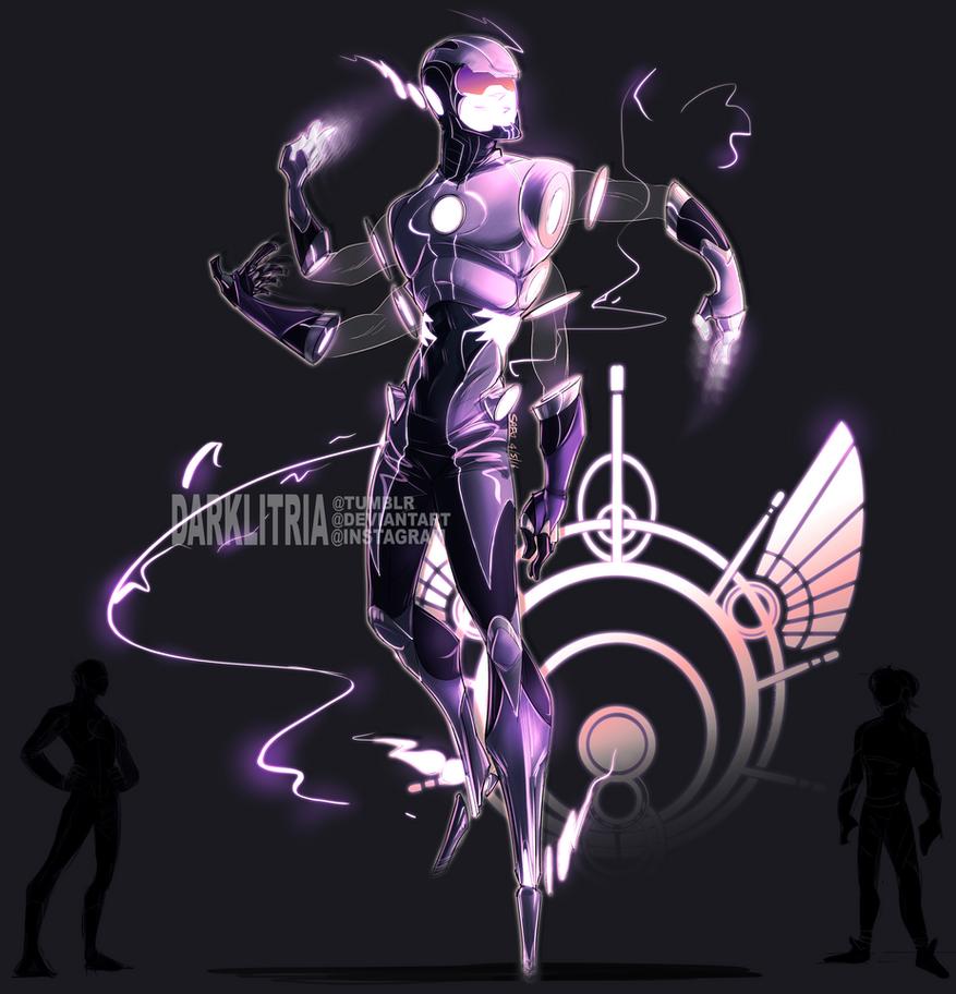 The Flash  + Quicksilver Fusion by DarkLitria