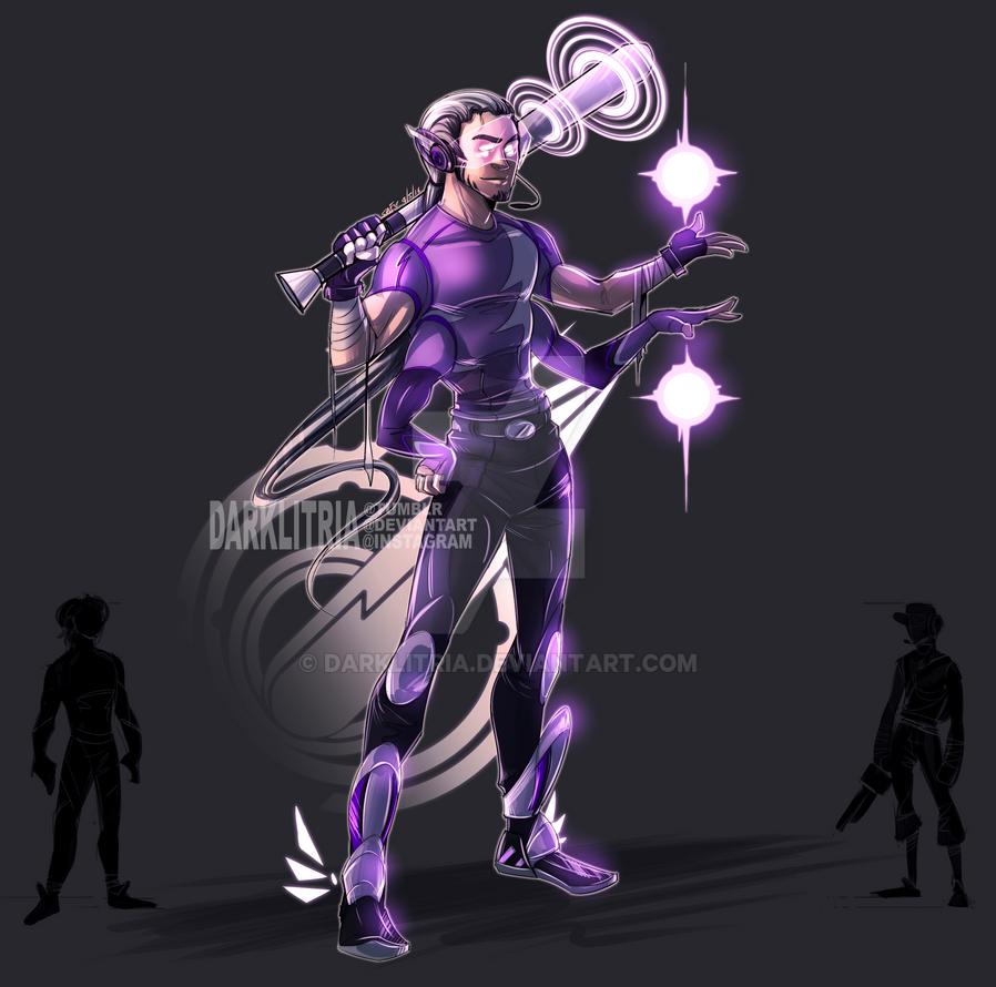 Scout + Quicksilver Fusion by DarkLitria