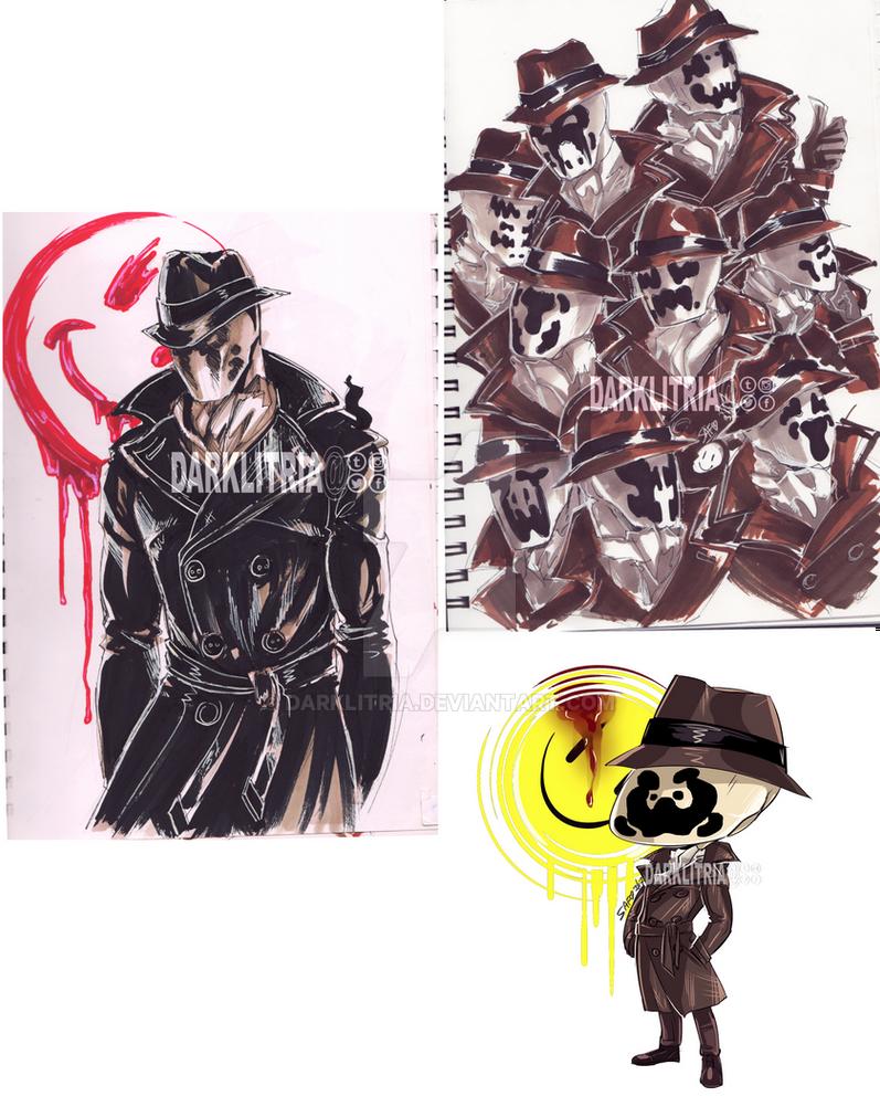 Watchmen: Rorschach by DarkLitria