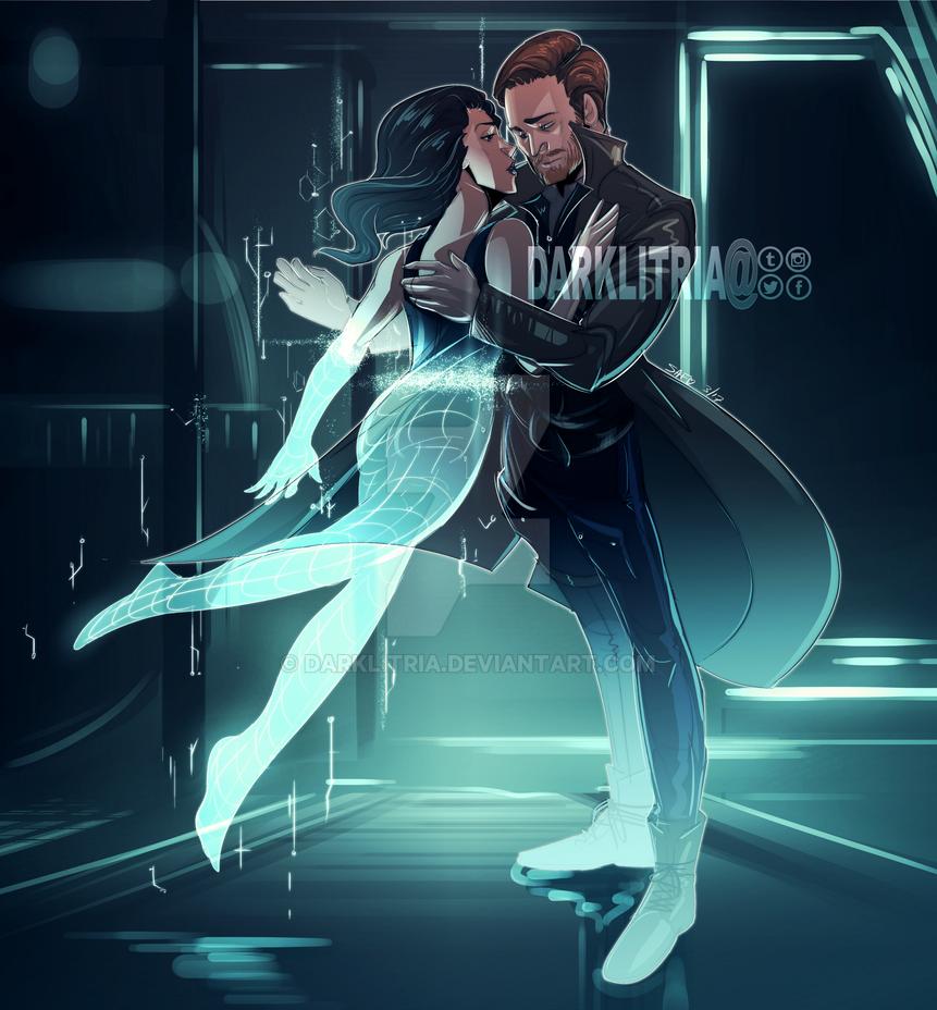 LoT: Rip Hunter and Gideon by DarkLitria