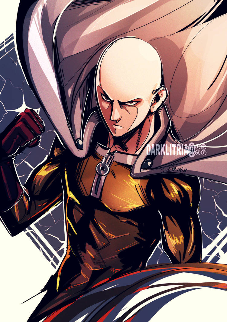 One Punch Man by DarkLitria