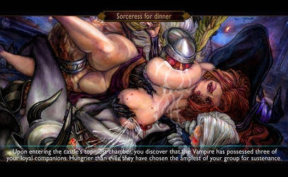 Dragon's Crown - Sorceress for dinner by Wish-Masterz