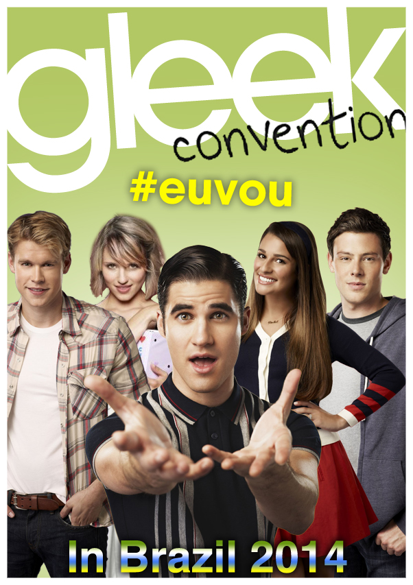 GLEEK CONVENTION POSTER by MonsterGleek