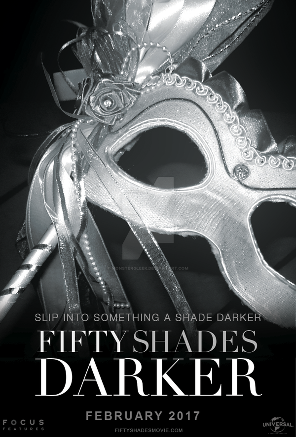 Fifty Shades Darker Movie Poster  2 By Monstergleek On