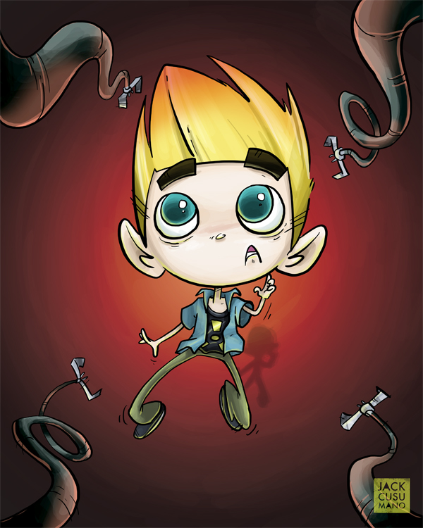 Johnny Test Challenge by jackiecous