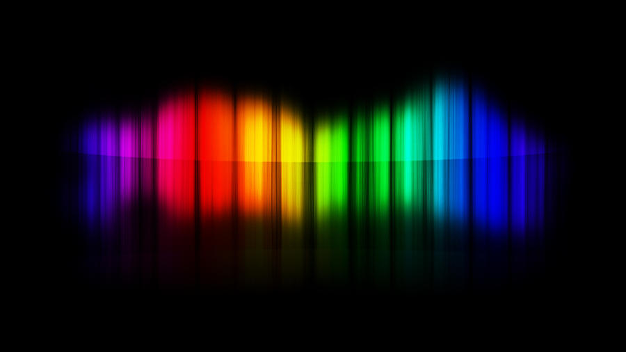 Abstract Spectrum Wallpaper by TheJesusLizard