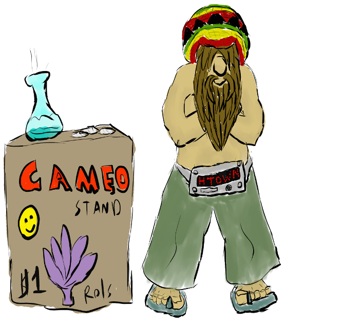 Cameo Stand 2 by Hectichermit