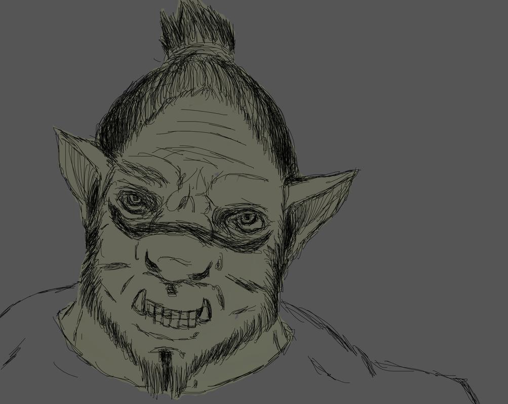Ogre Wip by Hectichermit