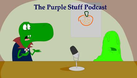 The Purple Stuff Podcast Fan Art