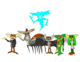 All the mutant Gremlins