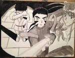 Tenchi Montage Fan Art by DRagon-ArtWorks