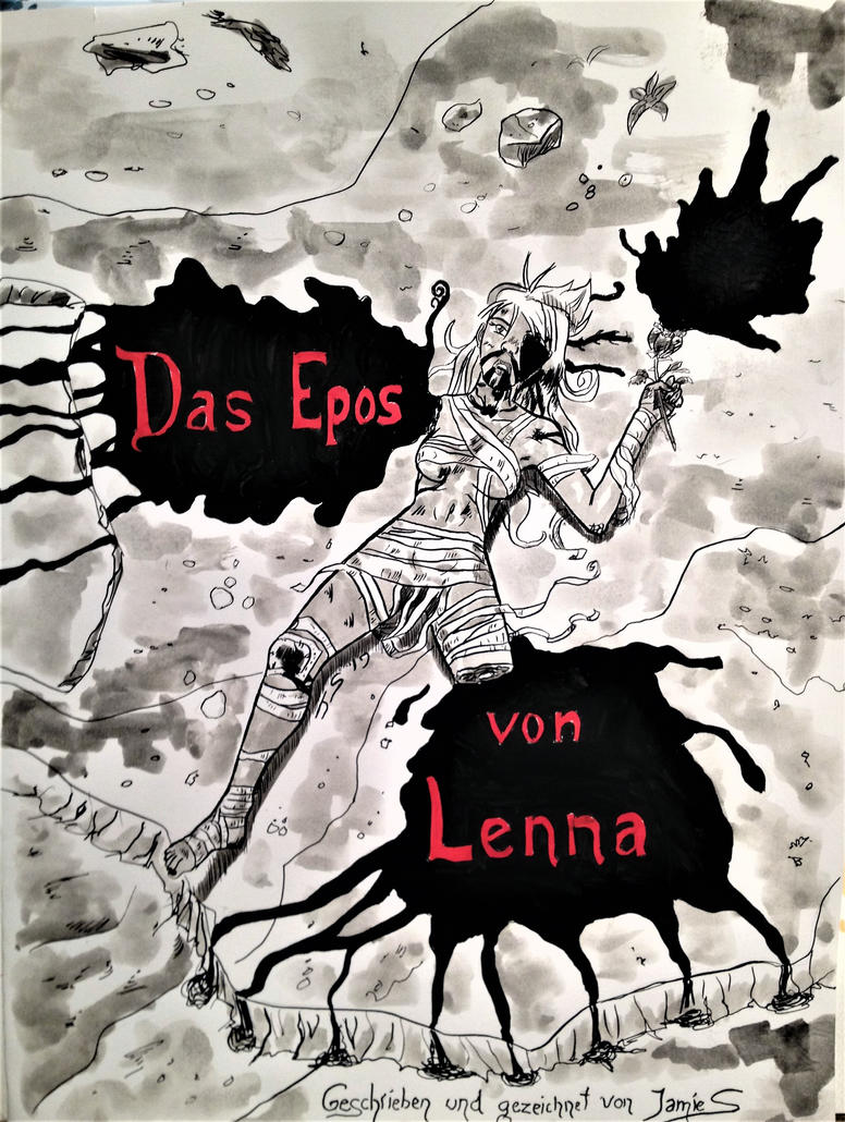 Dramatic Poster for the Epic of Lenna by DRagon-ArtWorks