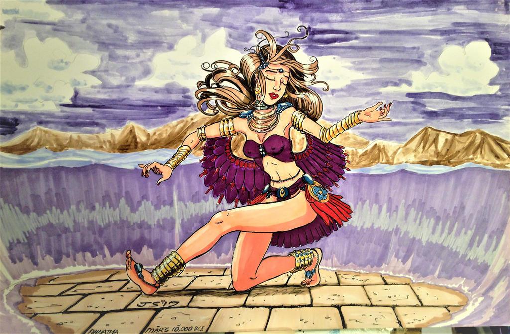 Annatha 10k b.c.e. by DRagon-ArtWorks