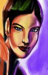 The Vulcan (a portrait study)