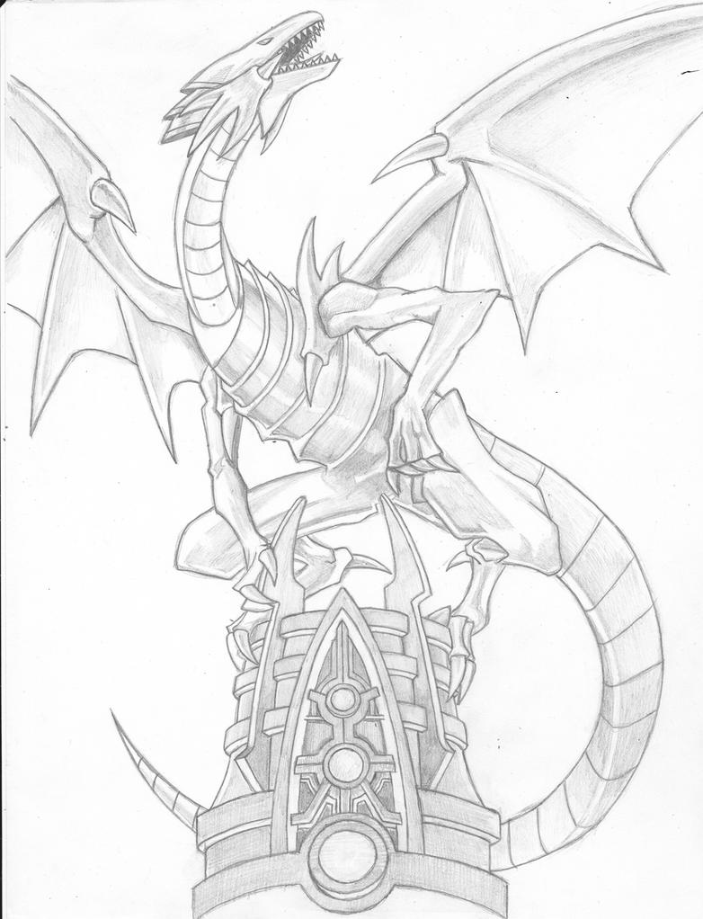 Blue Eyes White Dragon by SDKZERO on DeviantArt