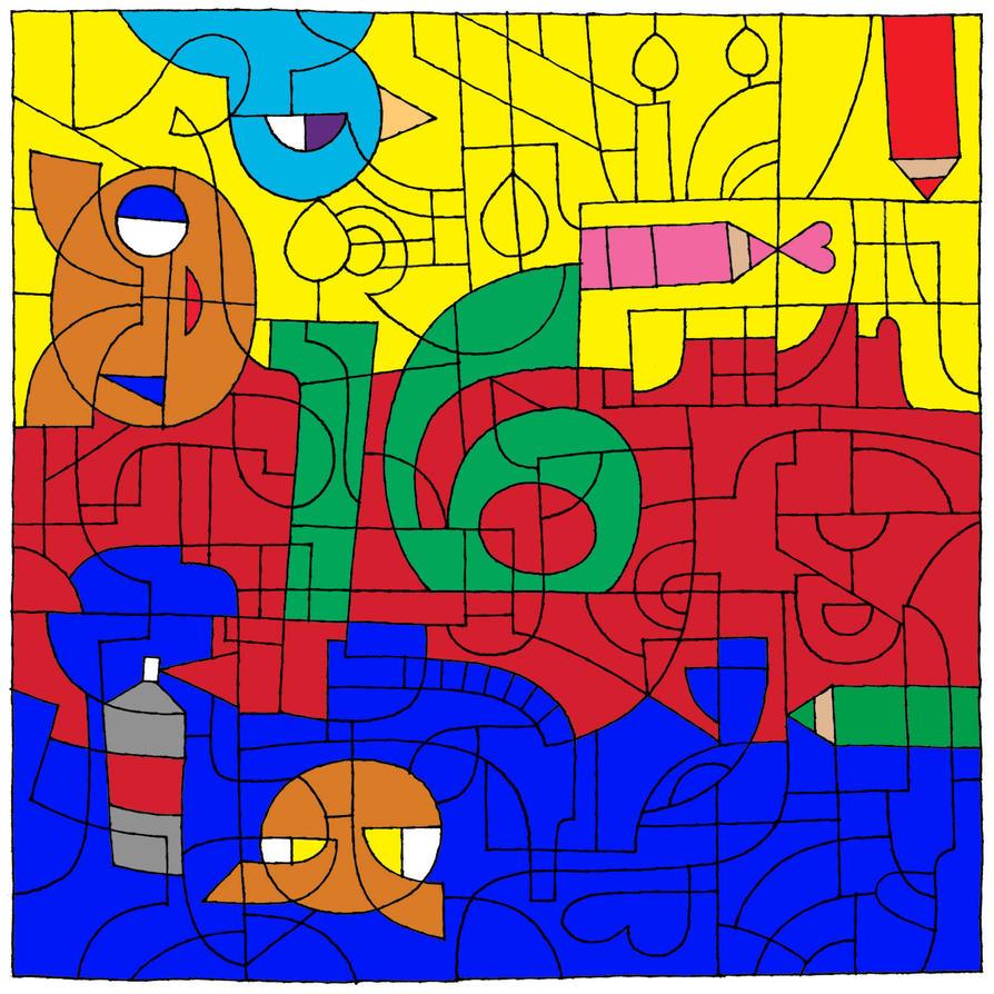 Happy 16th Birthday DeviantART! by SDKZERO