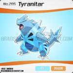 Fornawa 205 - Fornawan Tyranitar