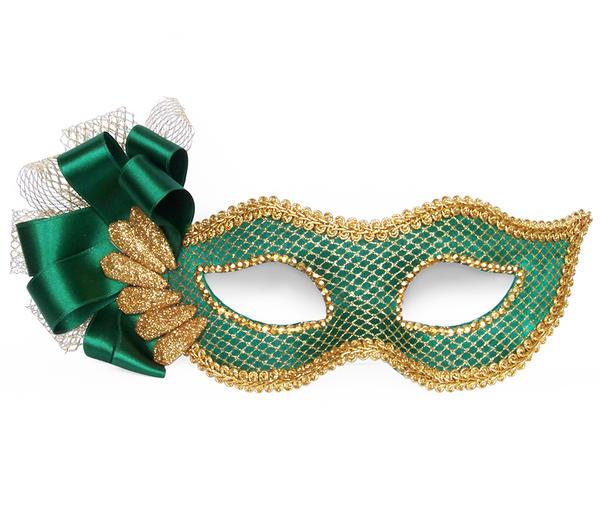 foto de Emerald Green Masquerade Mask by SinemAygan on DeviantArt