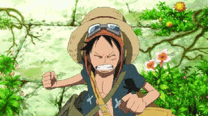 One Piece Luffy sigh! by Kexykarl
